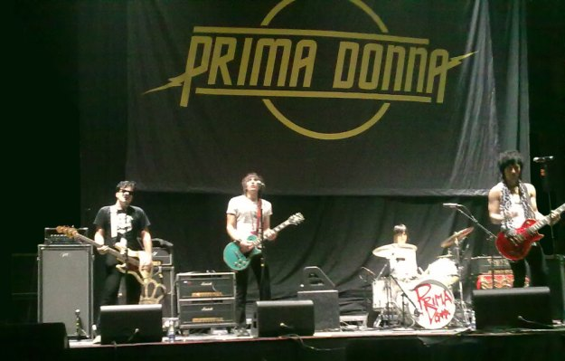 Prima Donna at Soundcheck