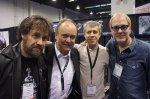Jonas Hellborg, Bo, Gary from Amp Shop and Hugh McDonald.