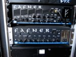 Peters amps, the Fafner II as main amp and an legacy Fafner as backup.