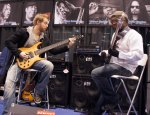 Hadrien Ferraud and Etienne Mbappé jamming at EBS - I say, WOW!