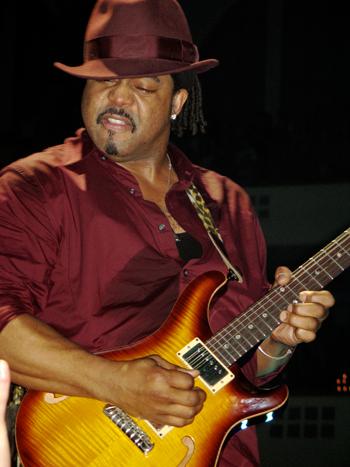 Guitarist Mike Scott