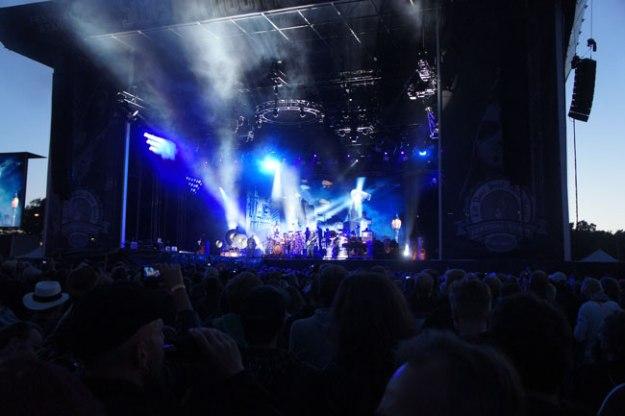 Wonderful show by Rush, headlining on Saturday.