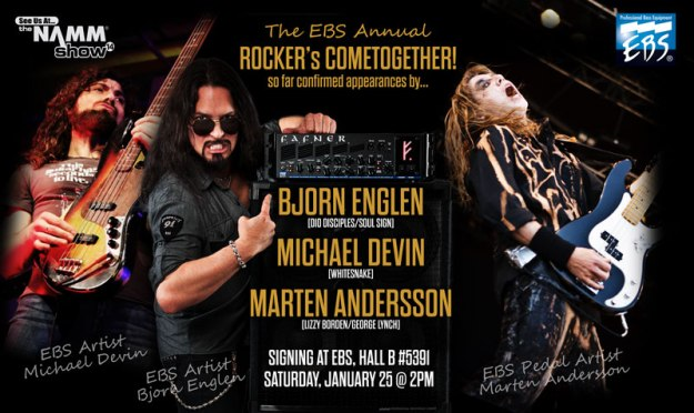 Michael Devin, Bjorn Englen & Marten Andersson signing on Saturday.