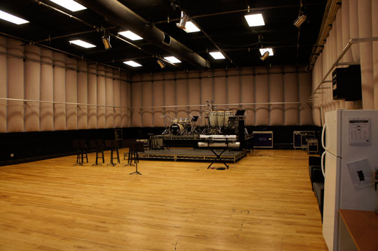 One of the rehearsal facilities run by Centerstaging Los Angeles