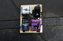 Anders Iwers pedalboard (light version) with Dark Tranquillity.