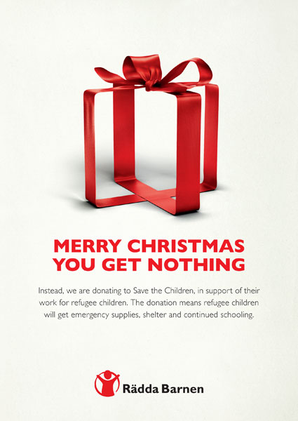 Christmas Card - Save the Children